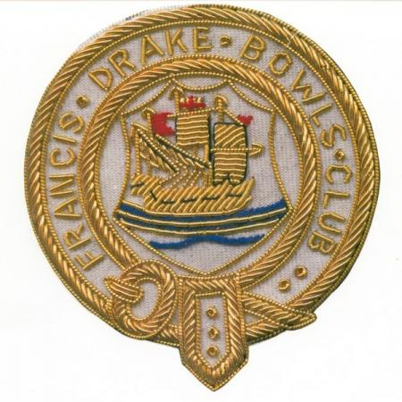 Francis Drake Bowls Club blazer badge