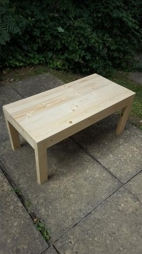 Coffee table - rough and rustic